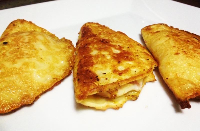 creps jamon y queso.