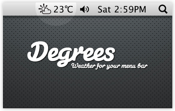 degrees