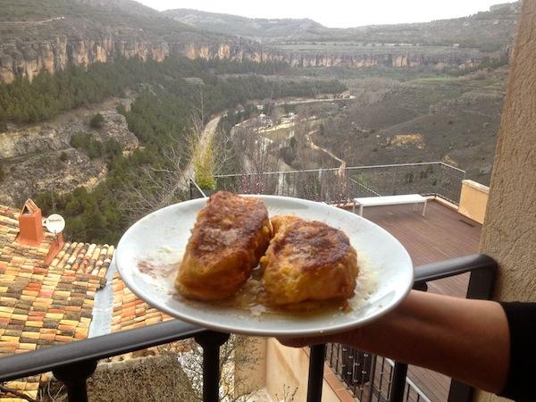 Torrijas de Susi en Cuenca