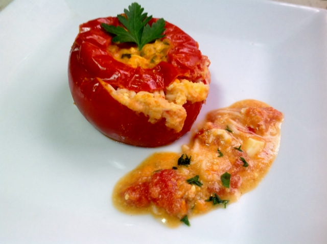 Tomate relleno light macrecetas - Tomates rellenos light ...