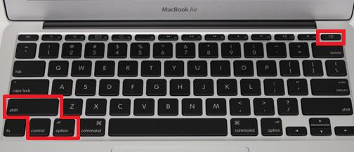 resetear_SMC_MacBook_Air